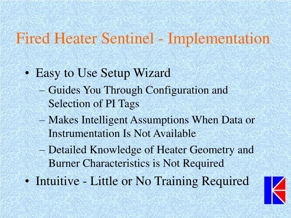 Fired Heater Sentinel - Implementation