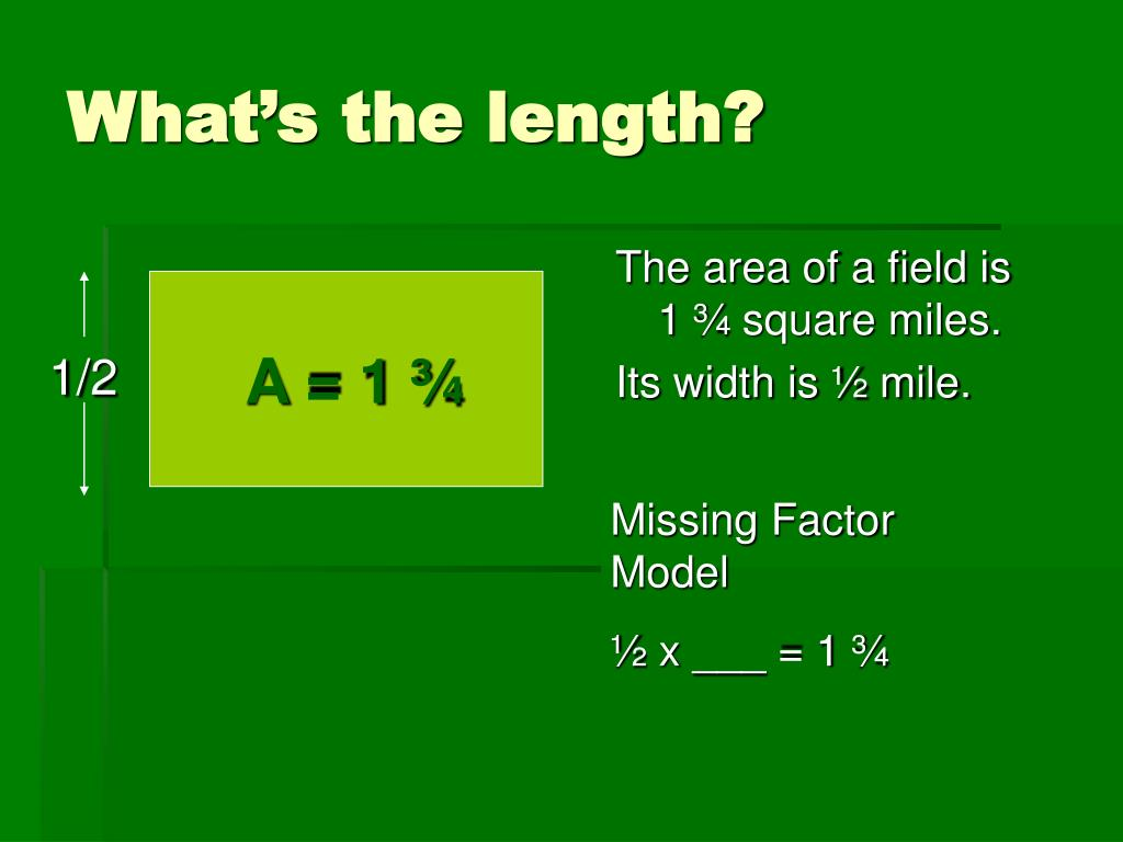 A = 1 ¾