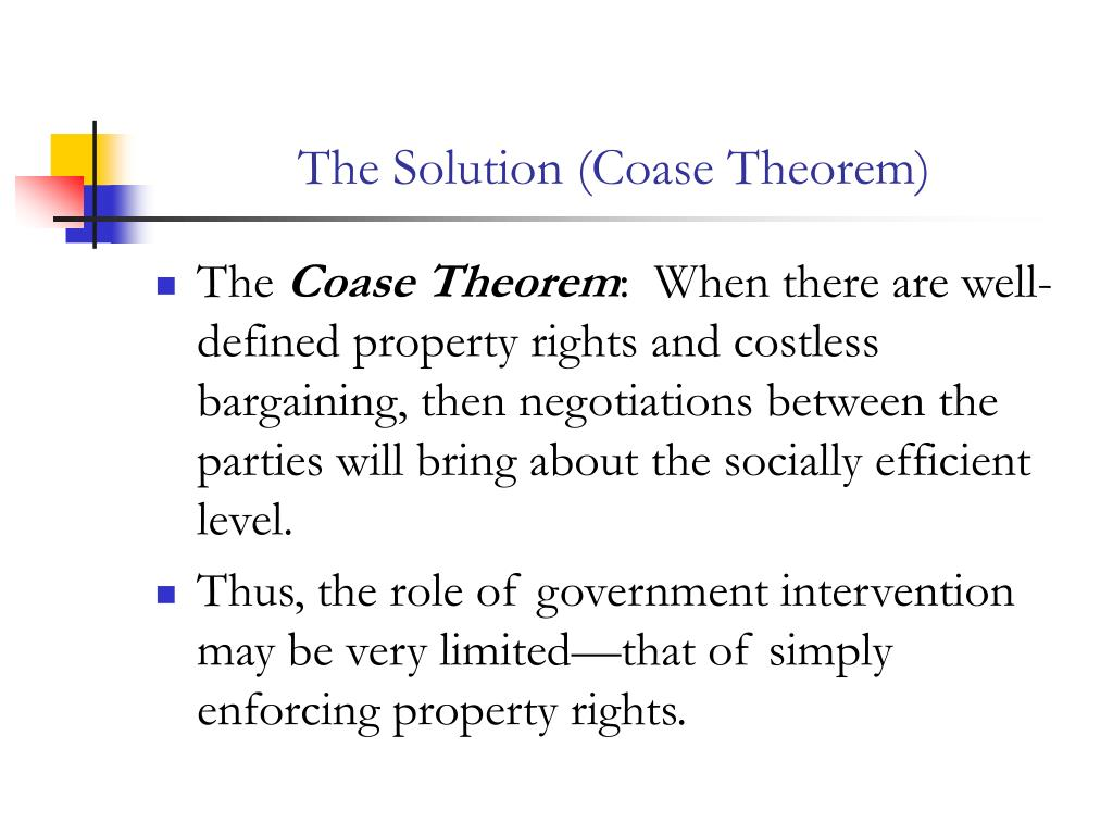 the coase theprem Ronald coase, in his research and theories, found in labor unions many of the qualities valued by his more liberal colleagues, an economist writes.
