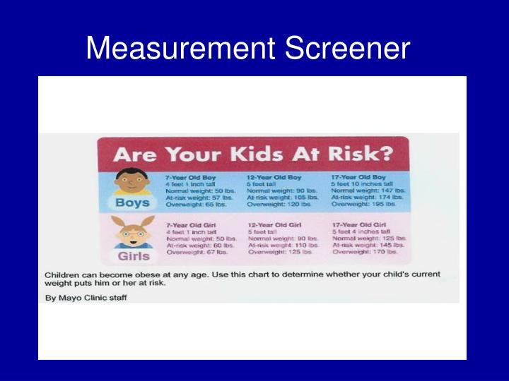 Measurement Screener