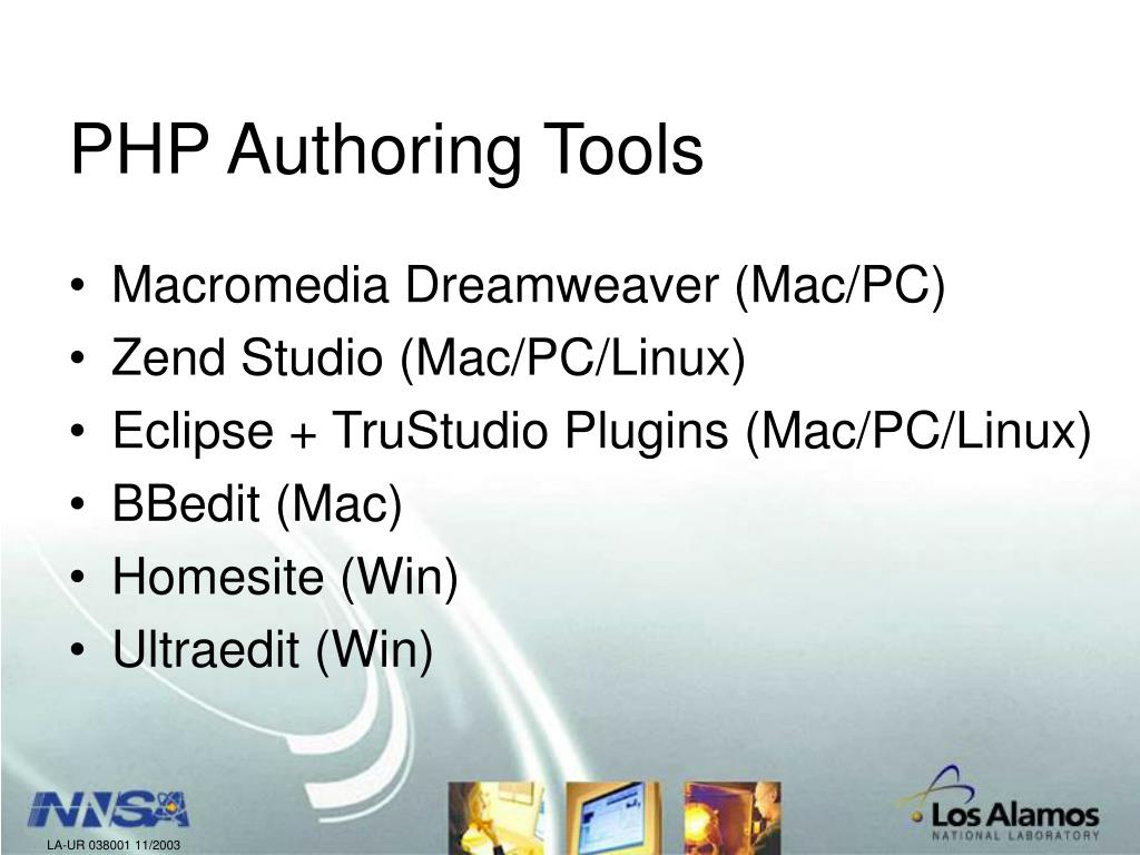 PHP Authoring Tools