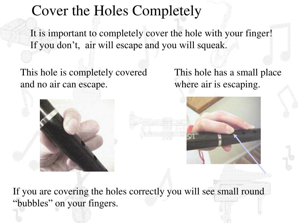 Cover the Holes Completely