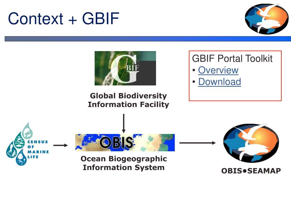 Context + GBIF