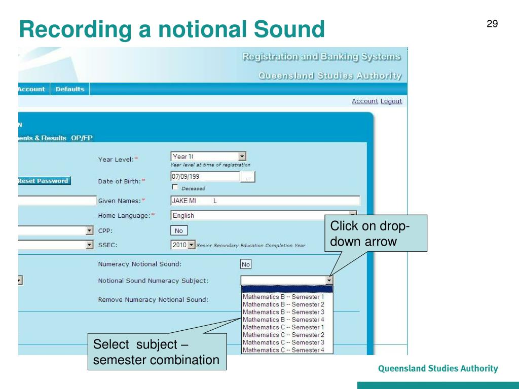 Recording a notional Sound