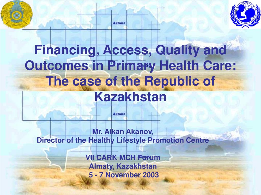Financing, Access, Quality and Outcomes in Primary Health Care: