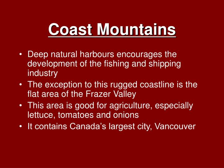 Coast Mountains