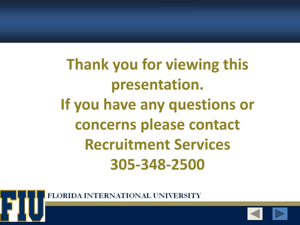 Thank you for viewing this presentation.