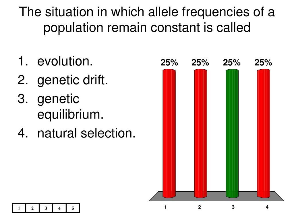 frequencies of alleles in a population Population genetics  frequencies • 5 mechanisms • which assumption not valid mutation  • small population • fixed alleles and extinction.