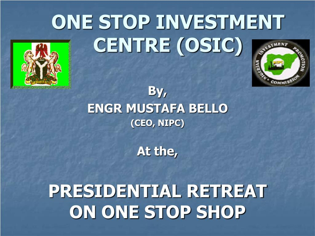 one stop investment centre osic