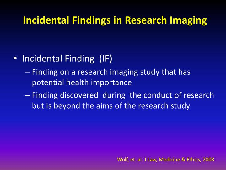 find research studies