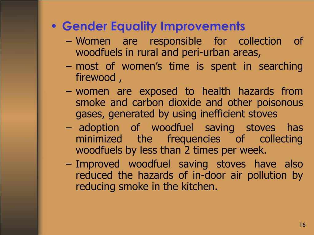 Gender Equality Improvements