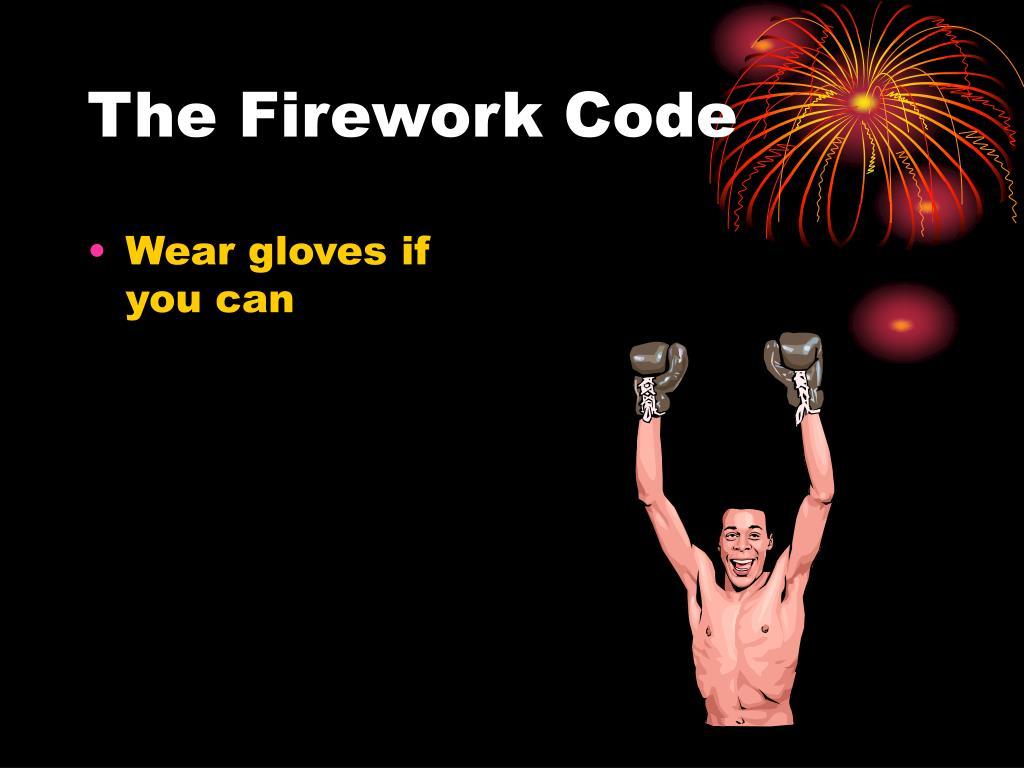 The Firework Code
