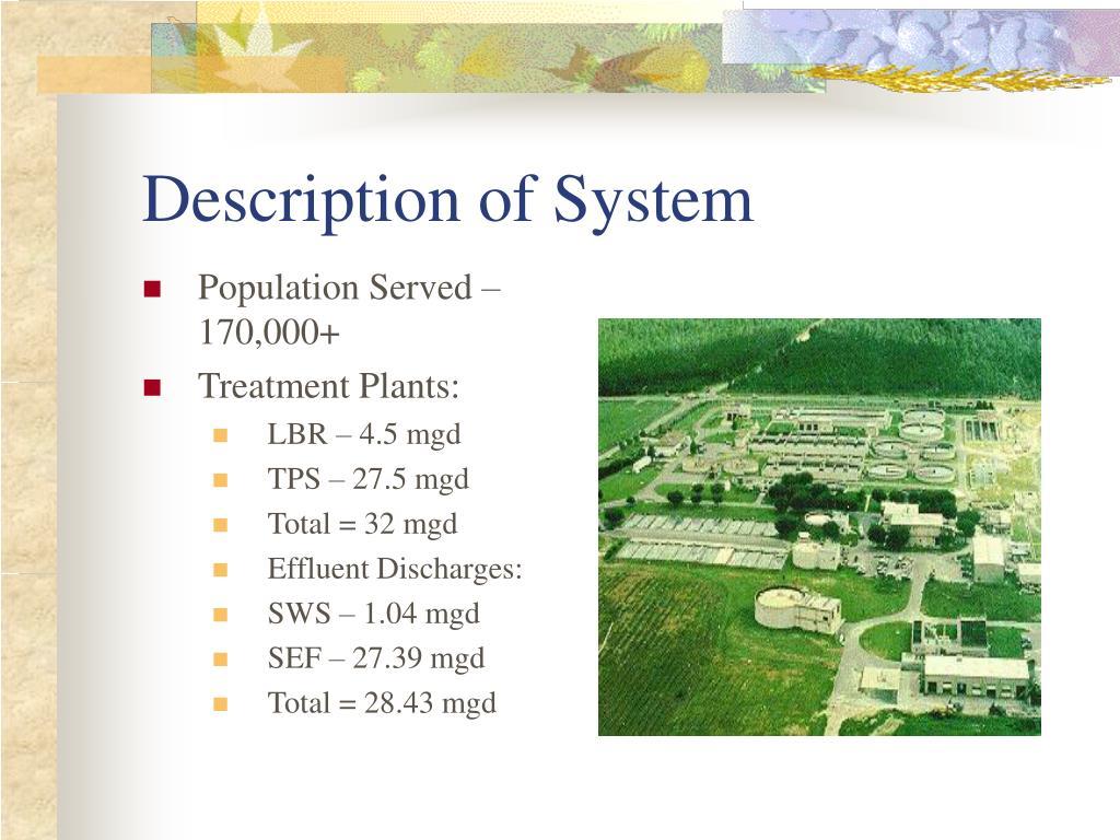 Description of System