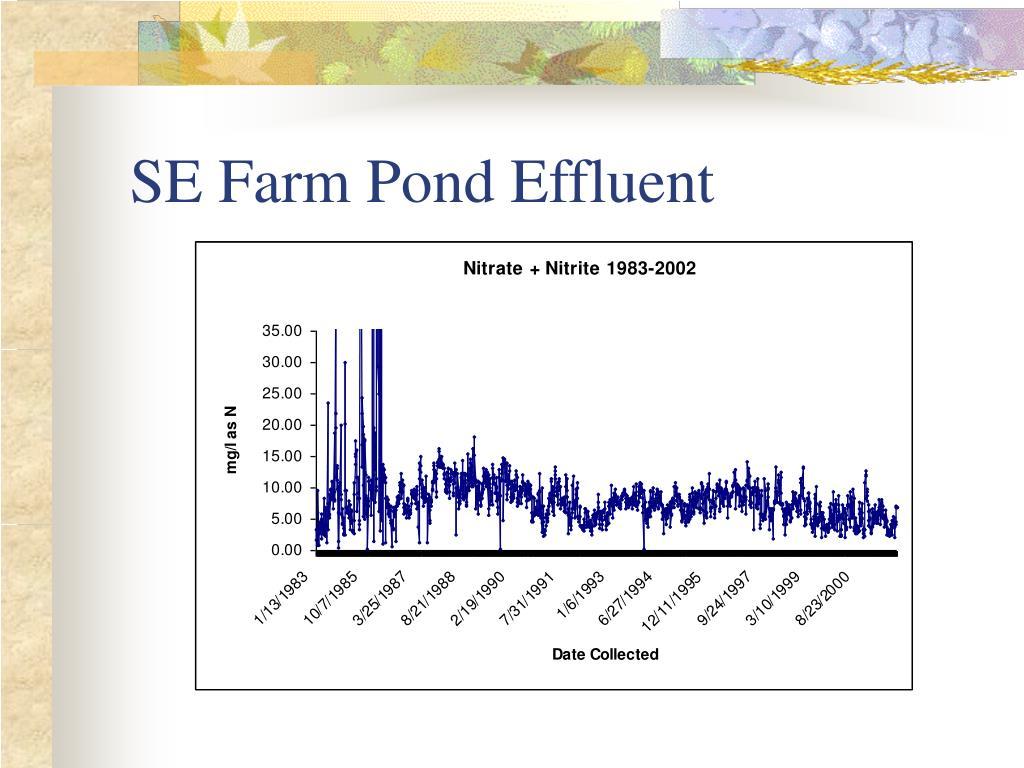 SE Farm Pond Effluent