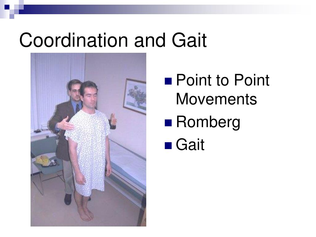 Coordination and Gait