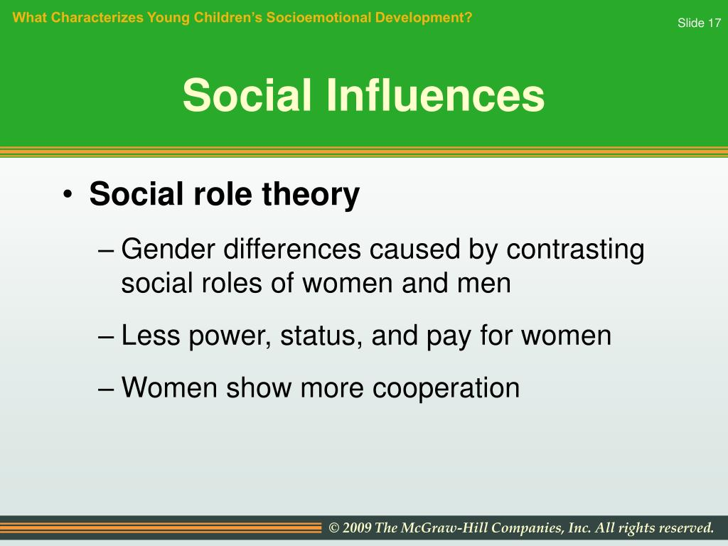 media influences on gender role development Gender roles are the social and behavioral norms considered appropriate in social situations for people of different genders an understanding of these roles is evident in children as young as age 4 and are extremely important for their social development gender roles are influenced by the media, family, environment, and society.