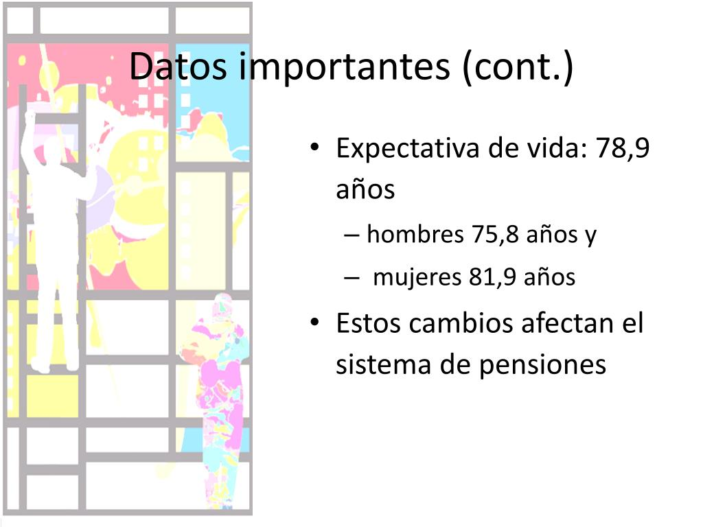 Datos importantes (cont.)