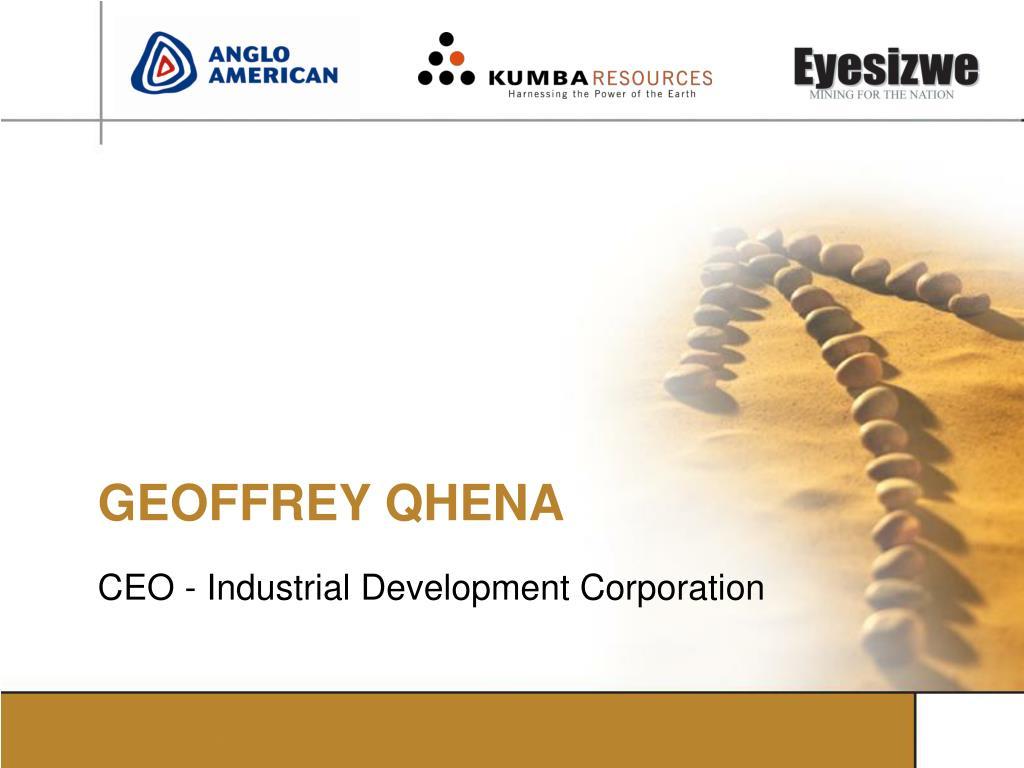 GEOFFREY QHENA