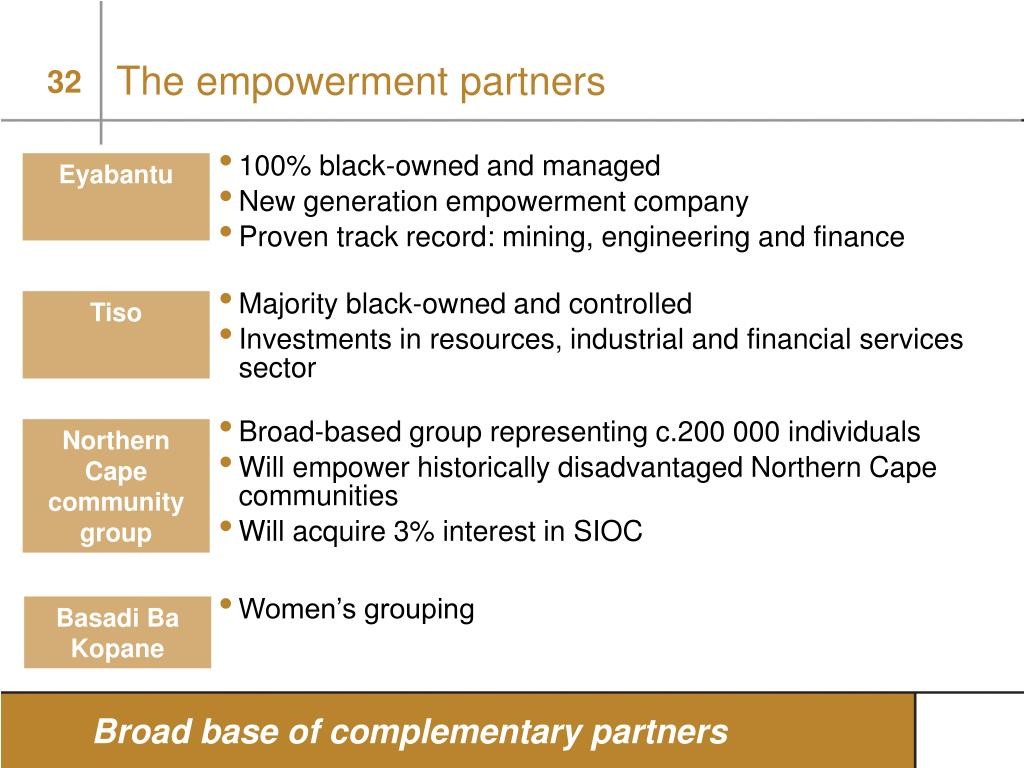 The empowerment partners