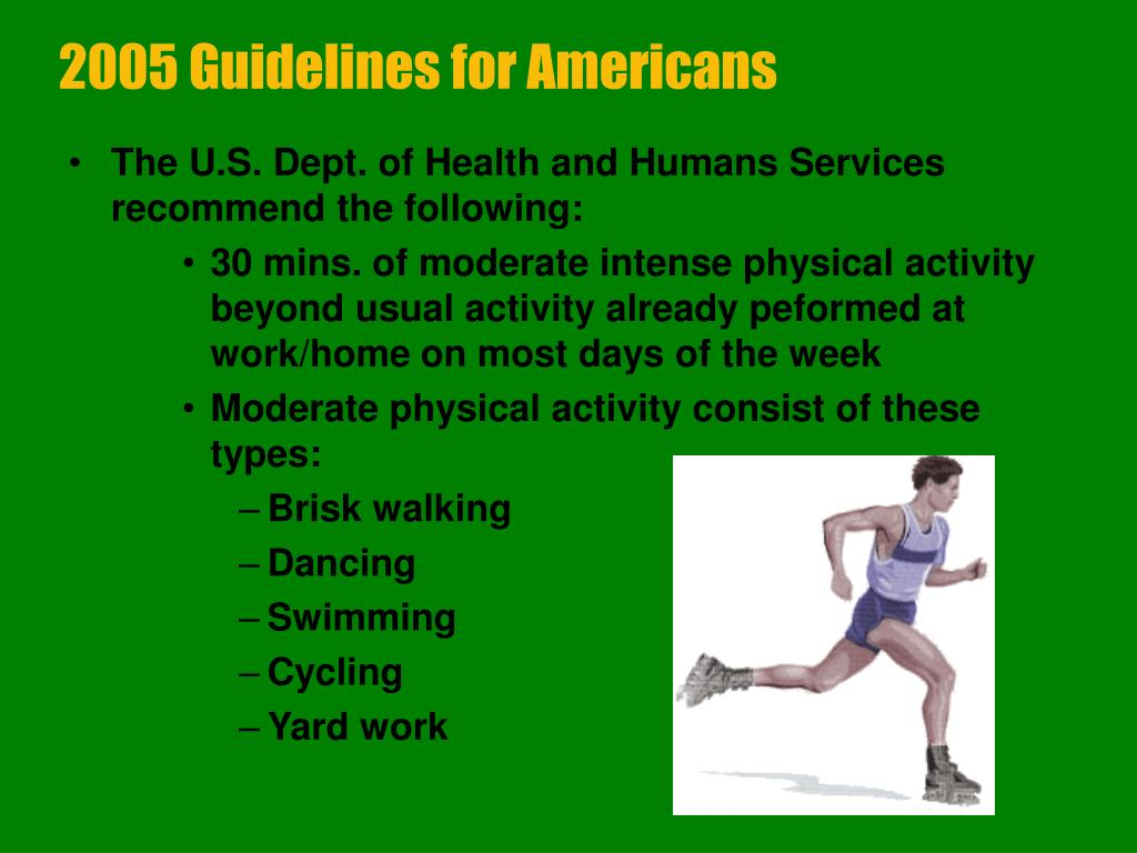 2005 Guidelines for Americans