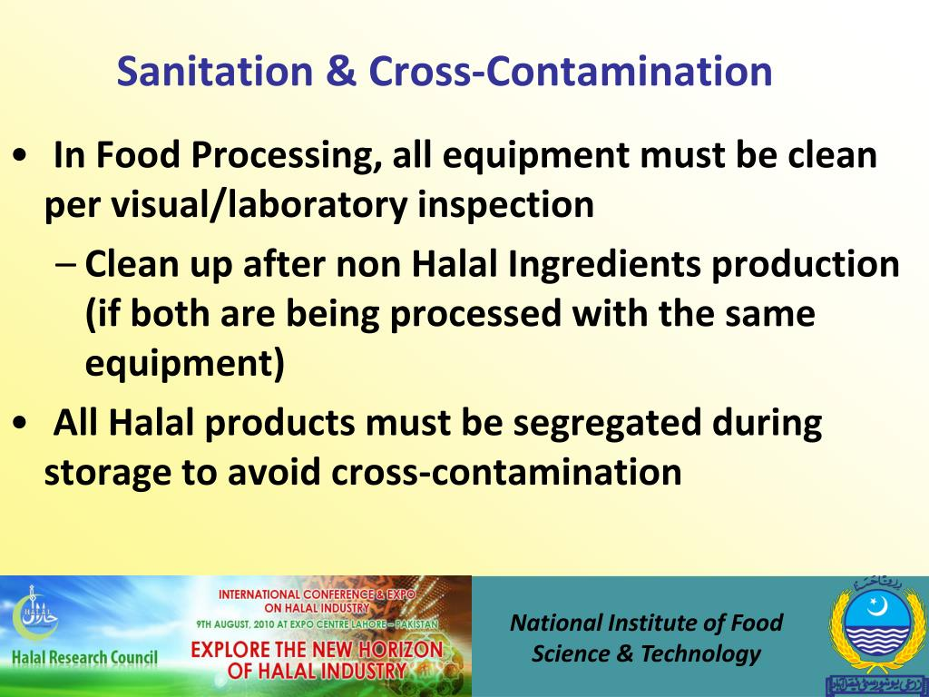 Sanitation & Cross-Contamination