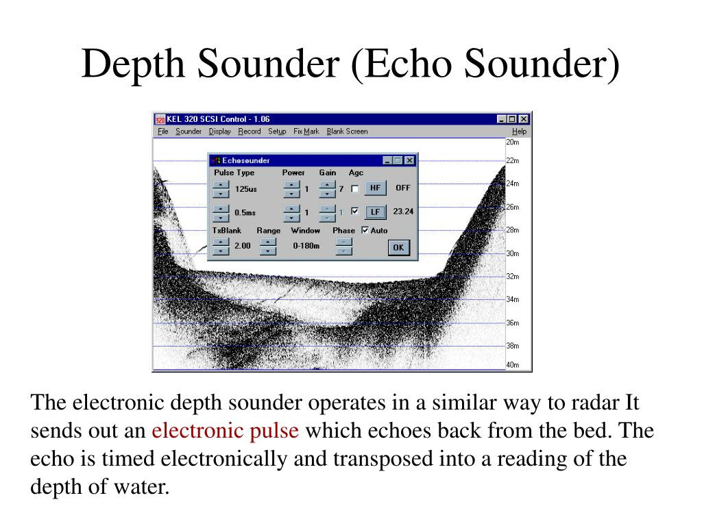 Depth Sounder (Echo Sounder)