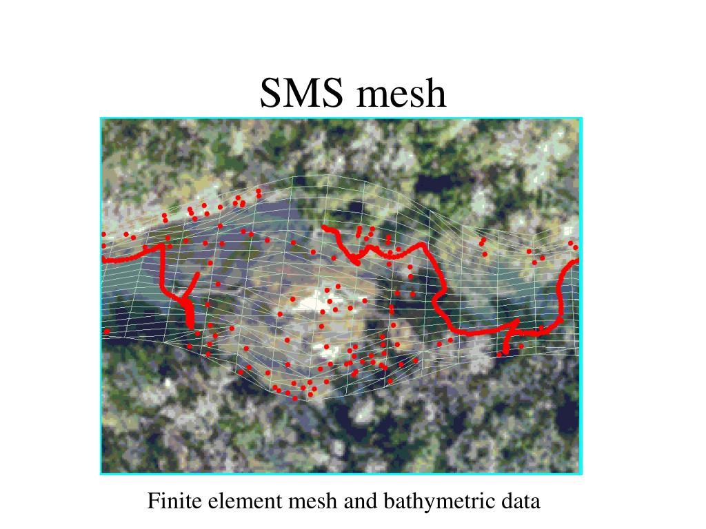 SMS mesh