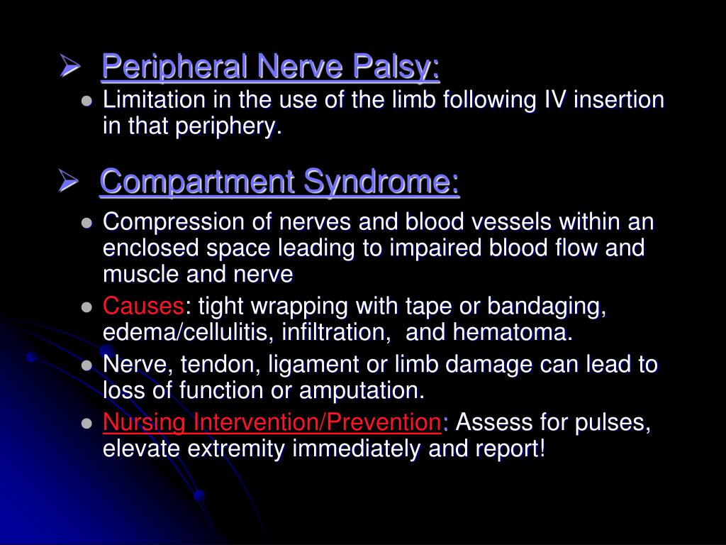 Peripheral Nerve Palsy: