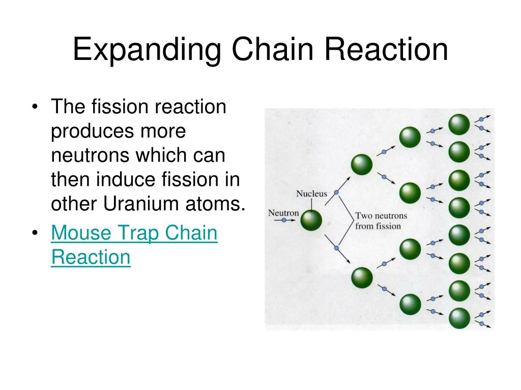 Expanding Chain Reaction