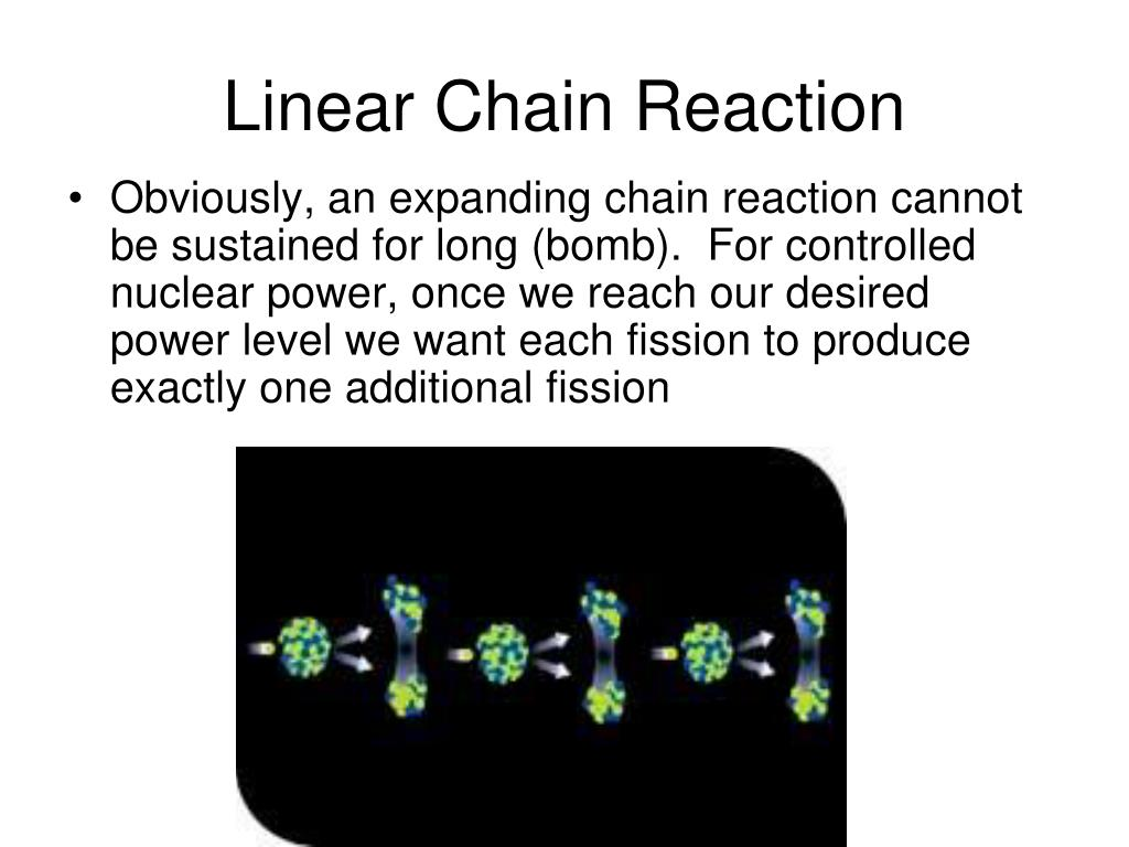 Linear Chain Reaction