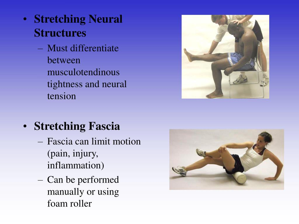 Stretching Neural Structures