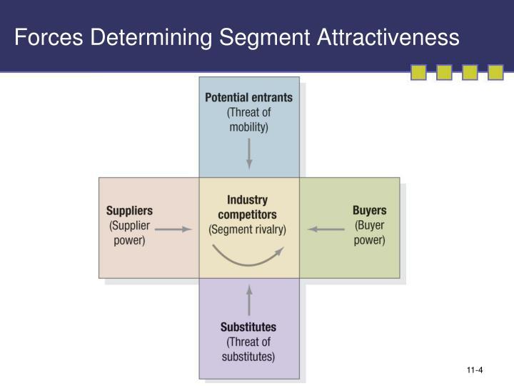 Forces Determining Segment Attractiveness