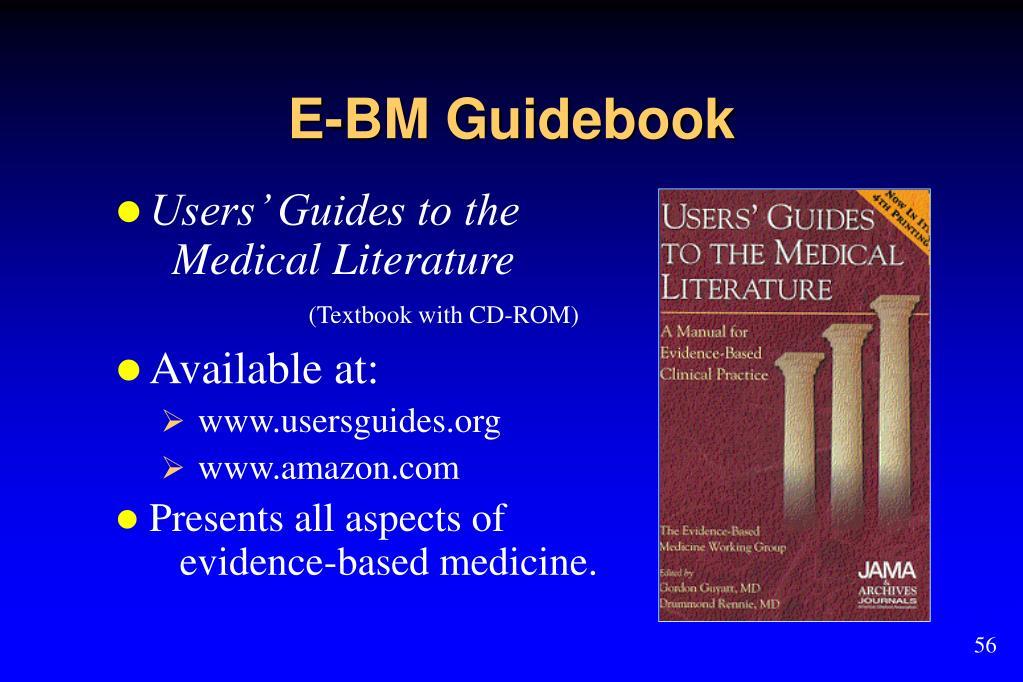 E-BM Guidebook