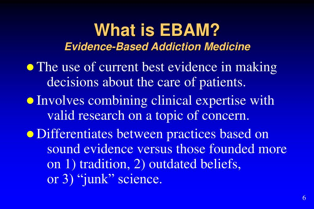 What is EBAM?