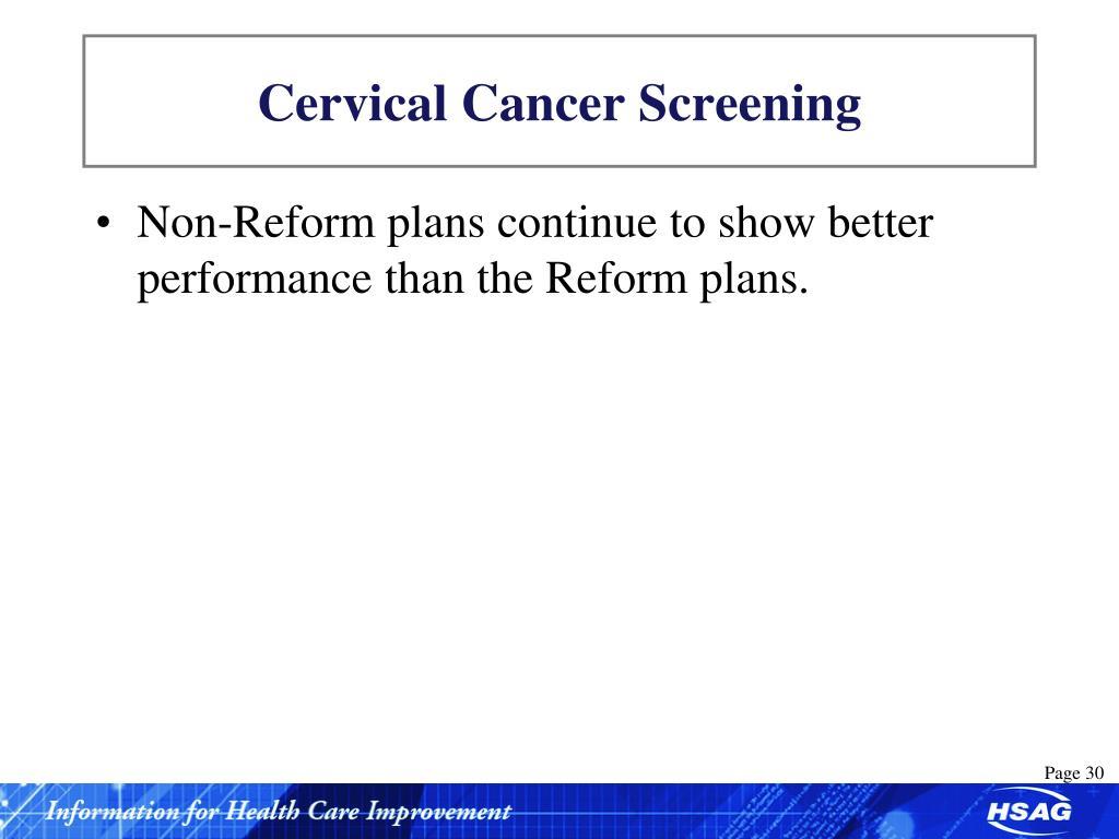 Cervical Cancer Screening