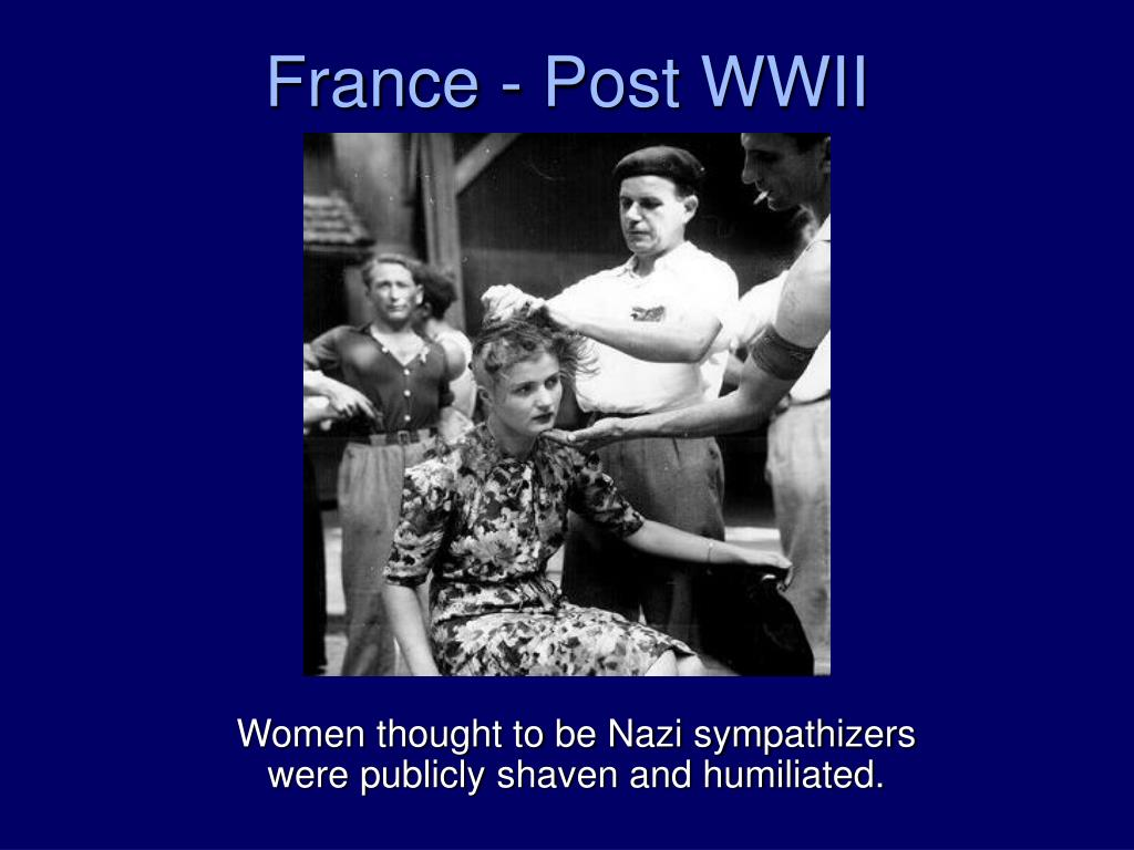 France - Post WWII