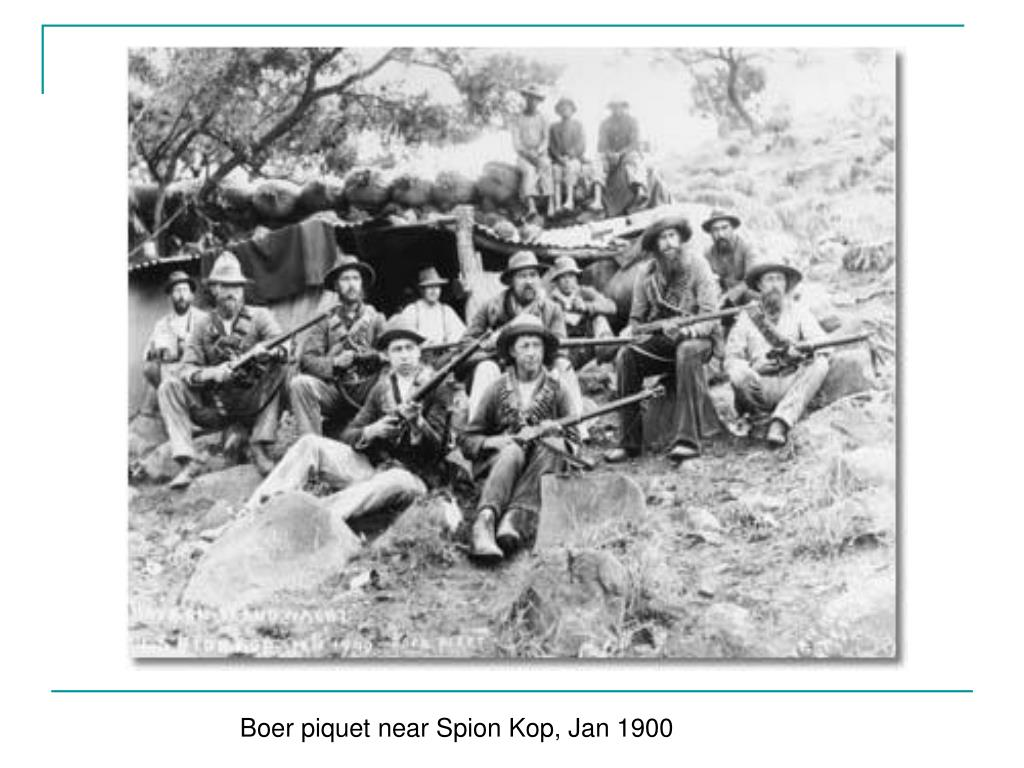 Boer piquet near Spion Kop, Jan 1900