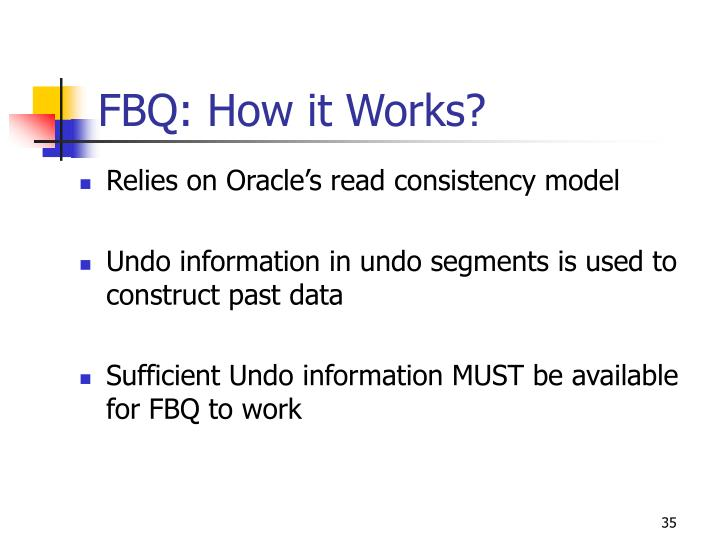 FBQ: How it Works?