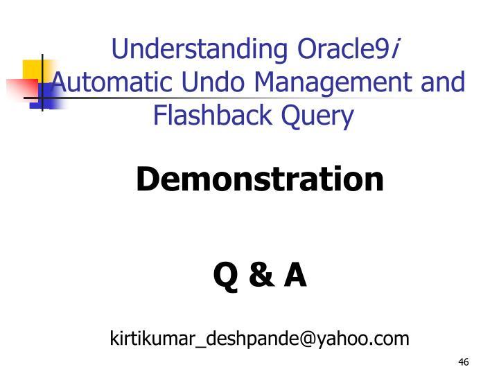 Understanding Oracle9