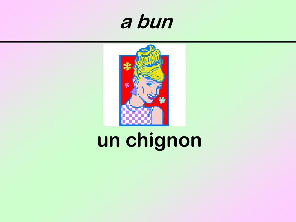 a bun