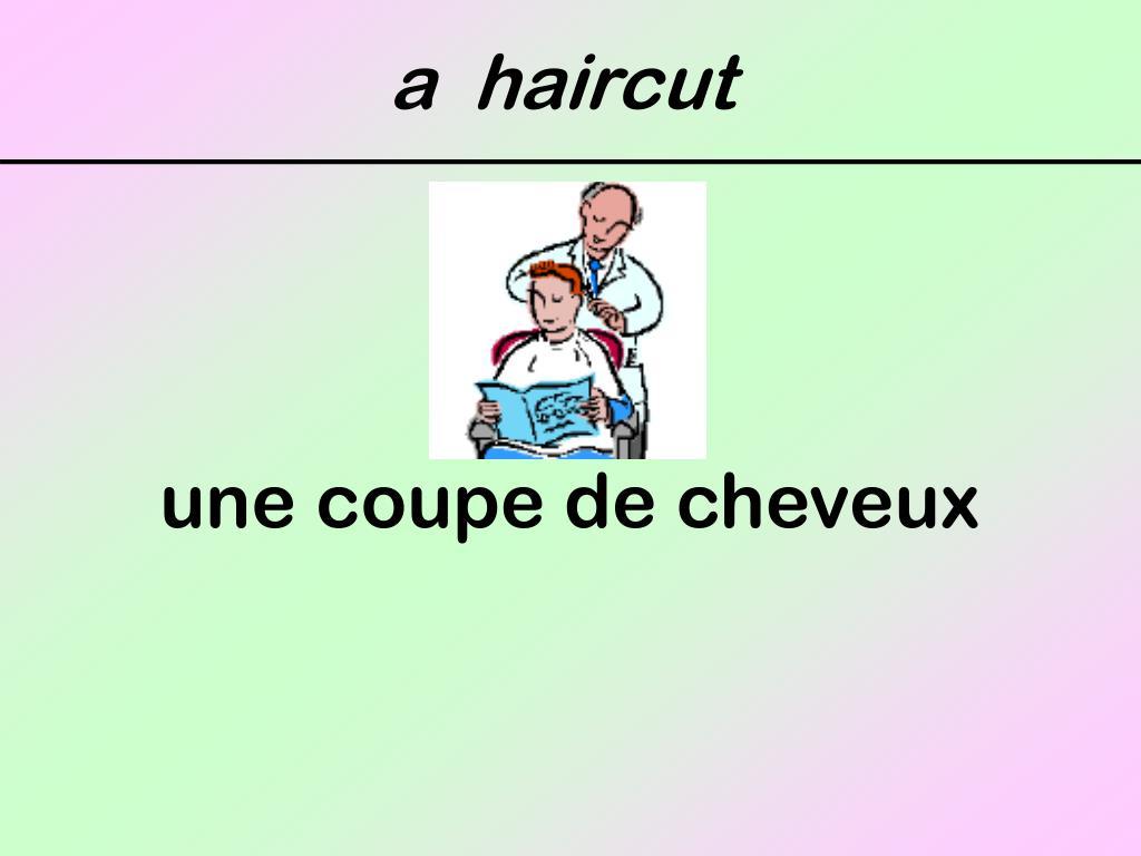a  haircut