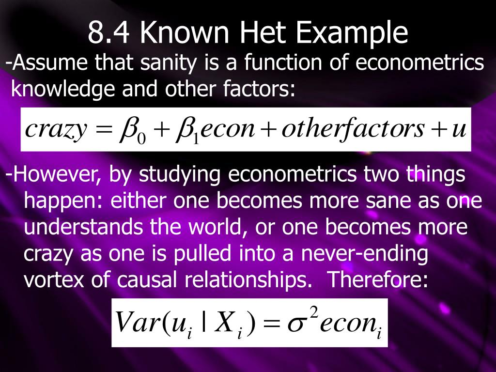 8.4 Known Het Example