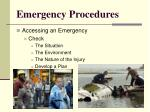 emergency procedures5