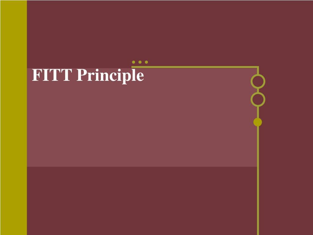 Printables Fitt Principle Worksheet ppt fitt principle powerpoint presentation id334037 principle