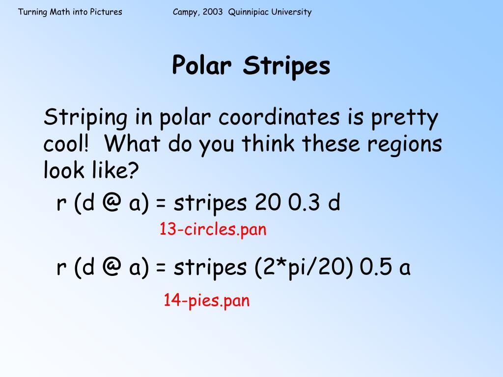 Polar Stripes