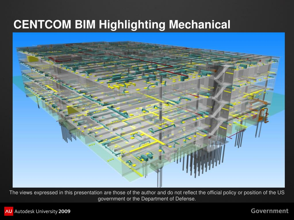 CENTCOM BIM Highlighting Mechanical