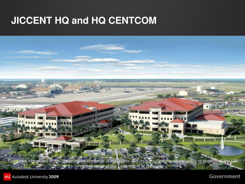 JICCENT HQ and HQ CENTCOM