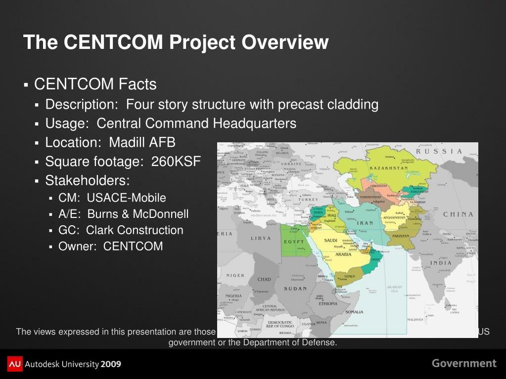 The CENTCOM Project Overview