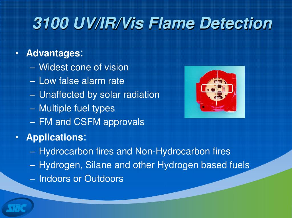 3100 UV/IR/Vis Flame Detection