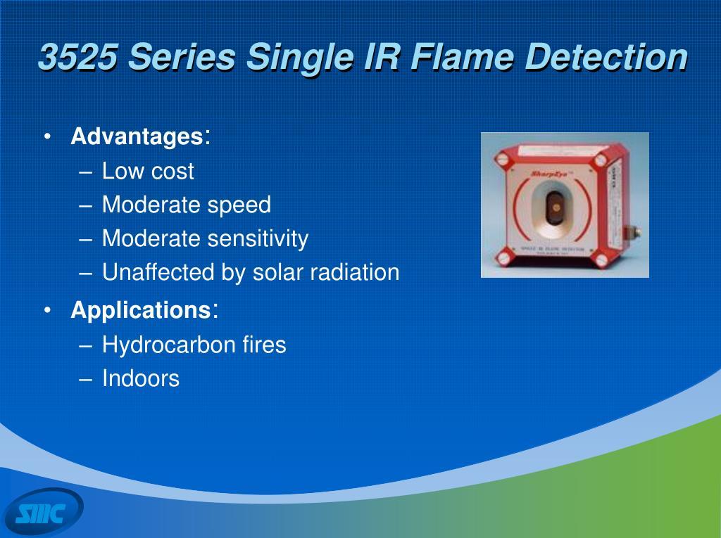 3525 Series Single IR Flame Detection
